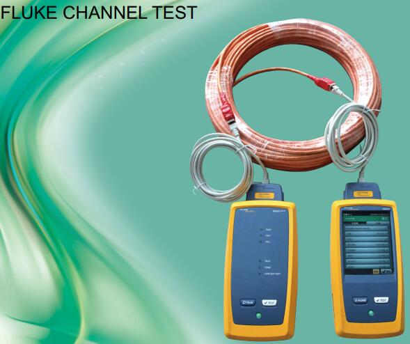 CAT8 FLUKE CHANNEL TEST